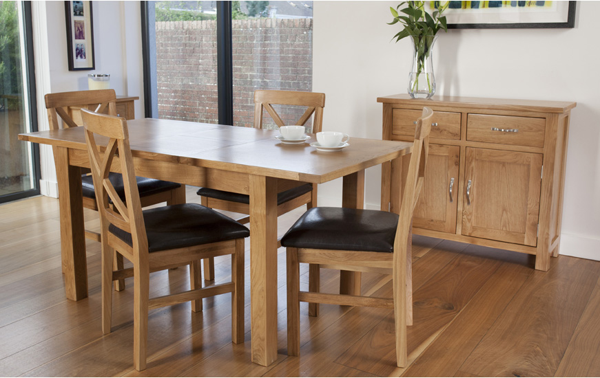 York Oak Dining Range